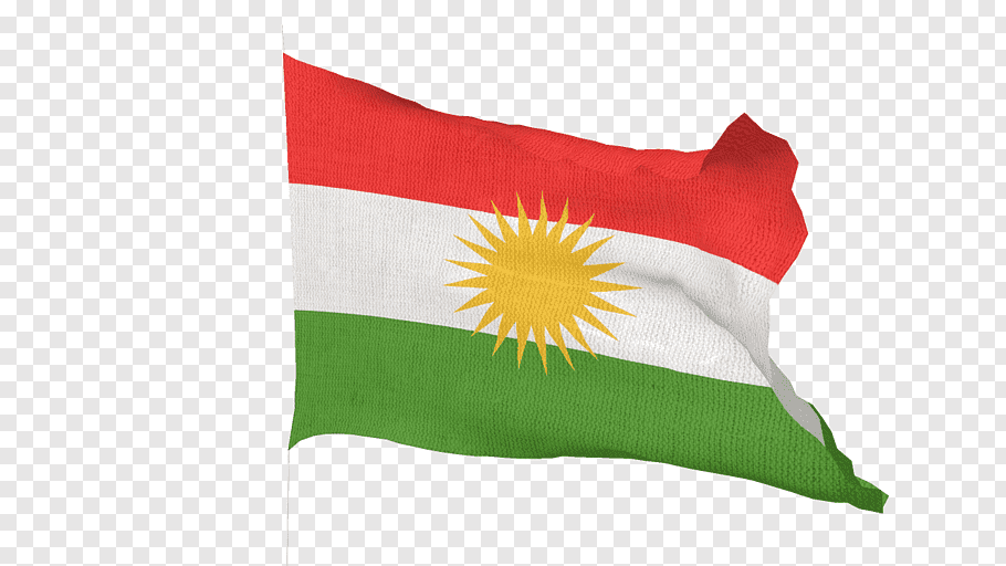 Throwing In The White Flag Png - Kurdish Flag, red, white, and green flag png | PNGBarn