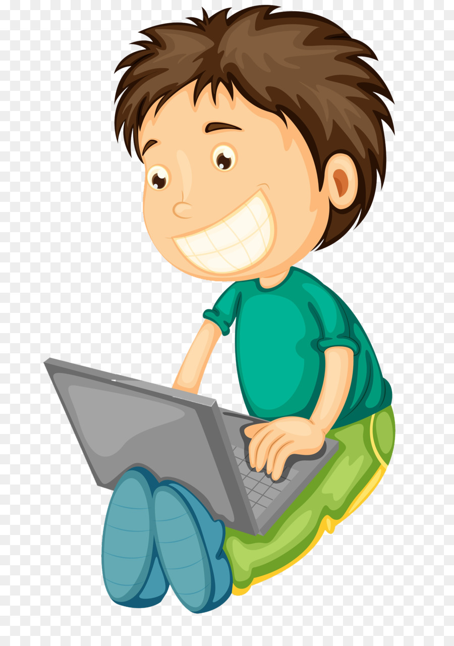 Computer Boy Png - Laptop Computer Clip art - Play the computer boy png download ...