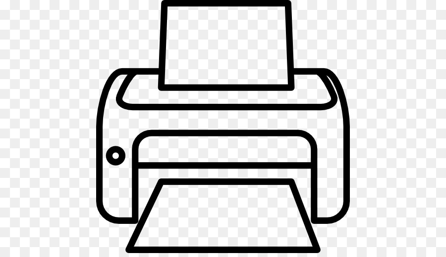 Computer Printer Png Black And White & Free Computer ...