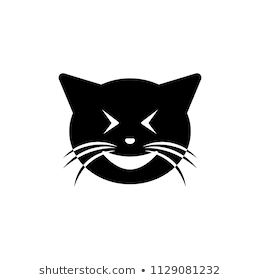 Laughing Cat Png - laughing cat icon. Element of emotions icon for mobile concept and web  apps. Detailed