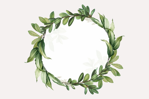 Leaf Wreath Clipart - Leaf Wreath Vectors, Photos and PSD files | Free Download