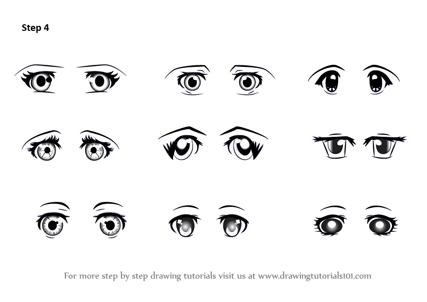 How To Draw Cartoon Eyes Png Free How To Draw Cartoon Eyes Png