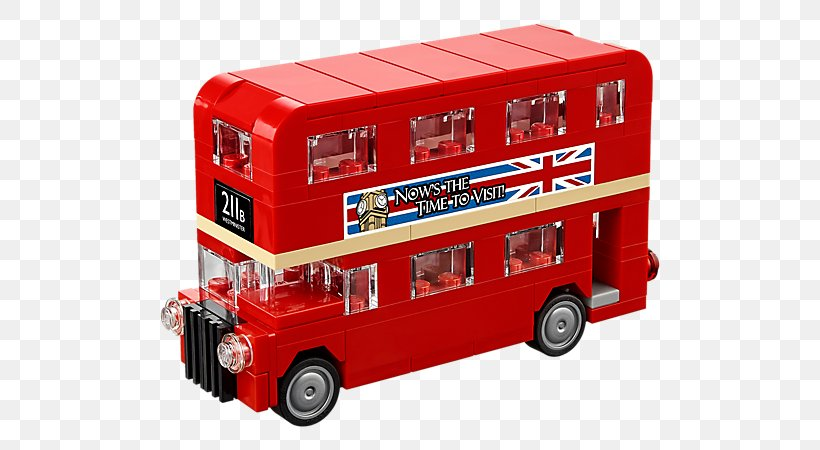 New Routemaster Png - LEGO 10258 Creator London Bus New Routemaster, PNG, 600x450px ...