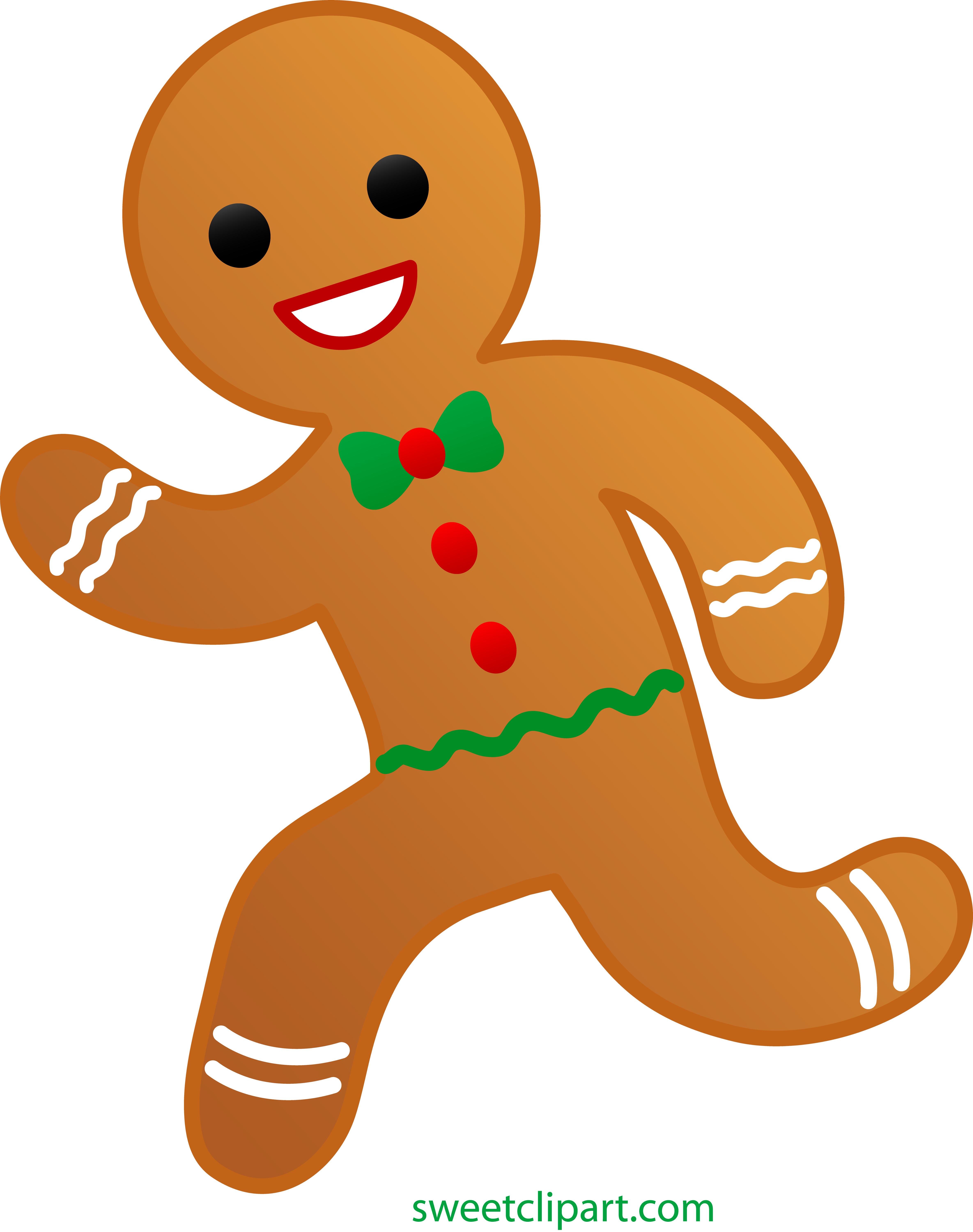 Gingerbread People Png - Library of gingerbread man clip library library png files ...