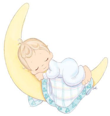 Library Of Sleeping Baby Angel Banner Bl 2453053 Png Images Pngio