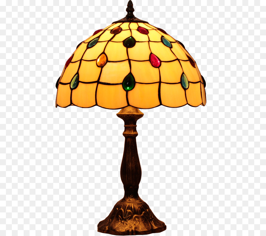 Tiffany Lamp Png - Light Bulb Cartoon png download - 800*800 - Free Transparent Table ...