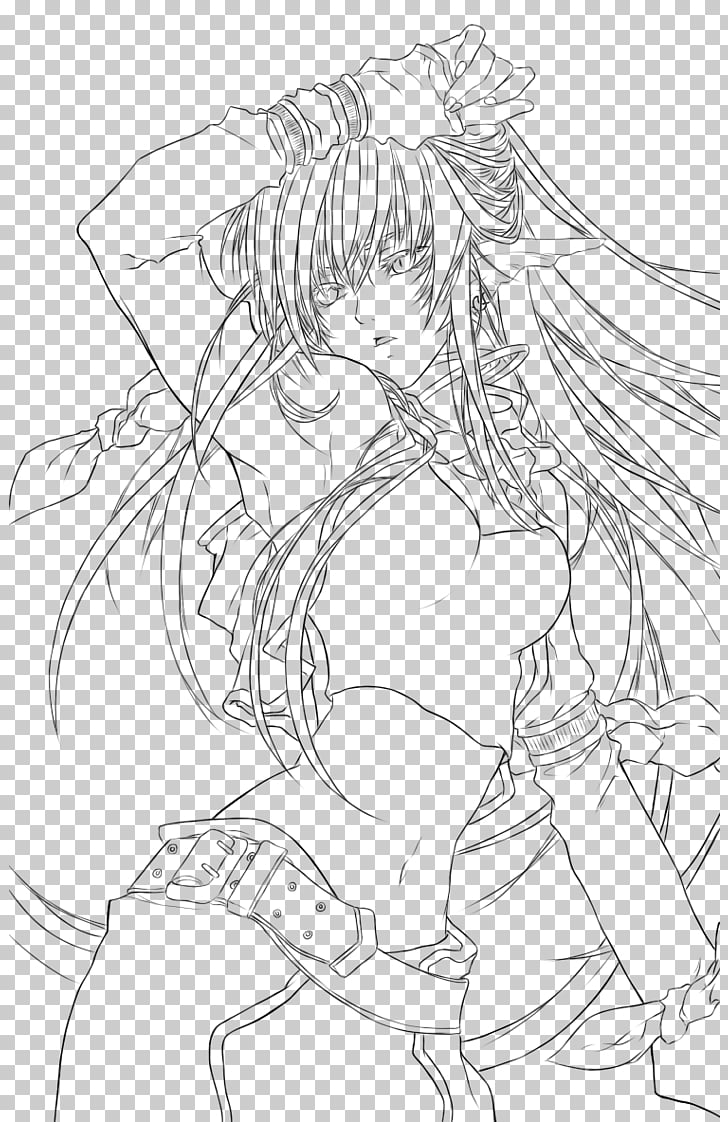 Png Girl Anime Coloring Amp Free Girl Anime Coloring Png