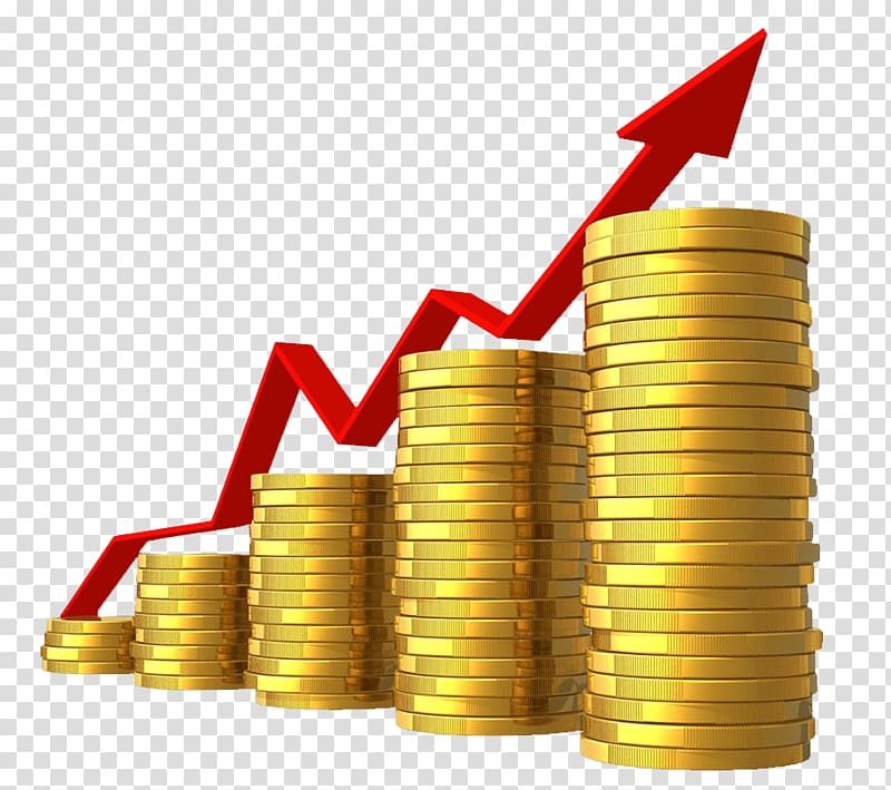 Tax Money Png - Line graph on top of coins illustration, Economic growth Economy ...
