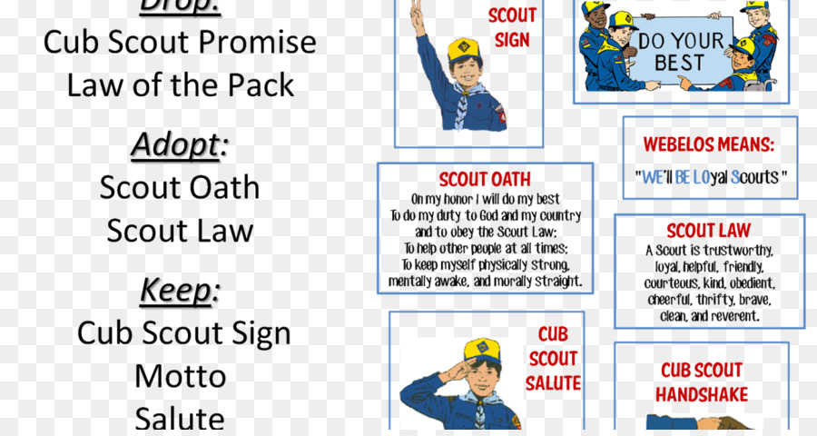 Scout Promise Png - Line Leader png download - 1200*630 - Free Transparent Scout ...
