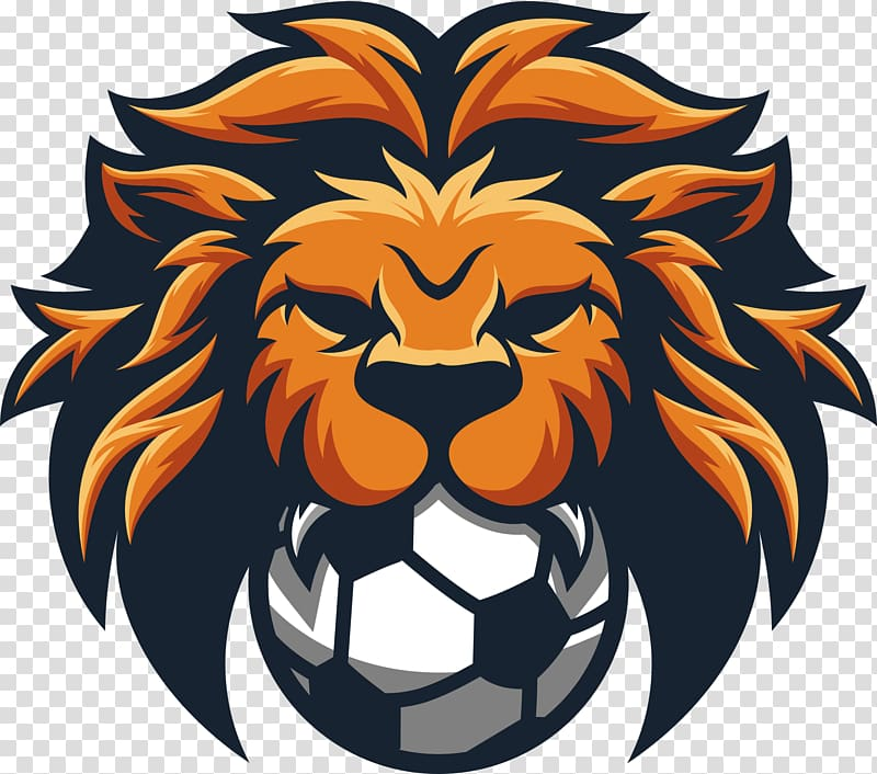 United Premier Soccer League Png - Lion and ball illustration, Lion Football United Premier Soccer ...