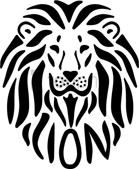 Lion Outline Png & Free Lion Outline.png Transparent ...