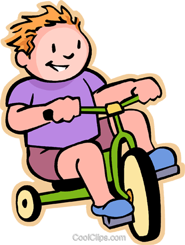 Boy Riding A Tricycle Png - Little boy riding a tricycle Royalty Free Vector Clip Art ...