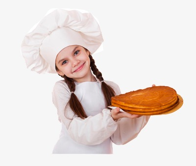 Little Girl Cooking Png - Little Girl Cooking Show, Cooking Clipart, Food, Hat PNG ...