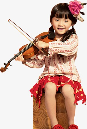 Cool Girl Violin Png - Little Girl Playing The Violin, Lovely, Girl, Violin PNG Image and ...