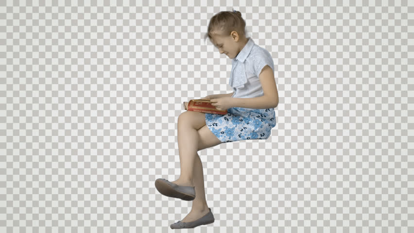 Girl Sitting On Books Png Free Girl Sitting On Books Png
