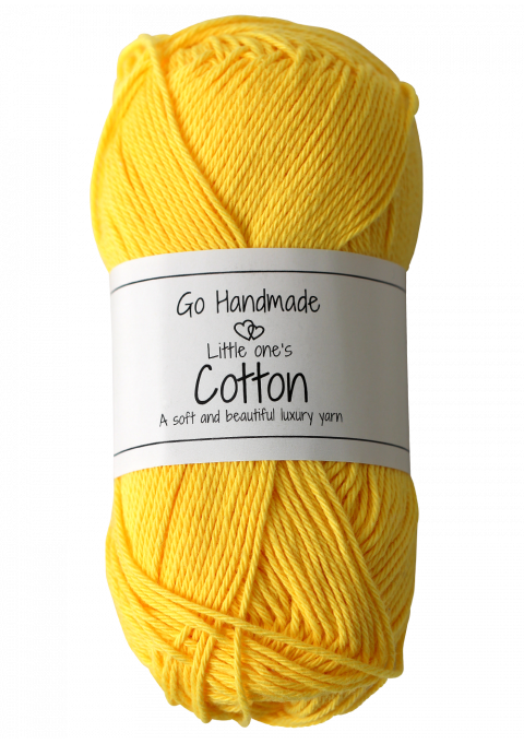 Yellow Yarn Png - Little one´s Cotton - yellow