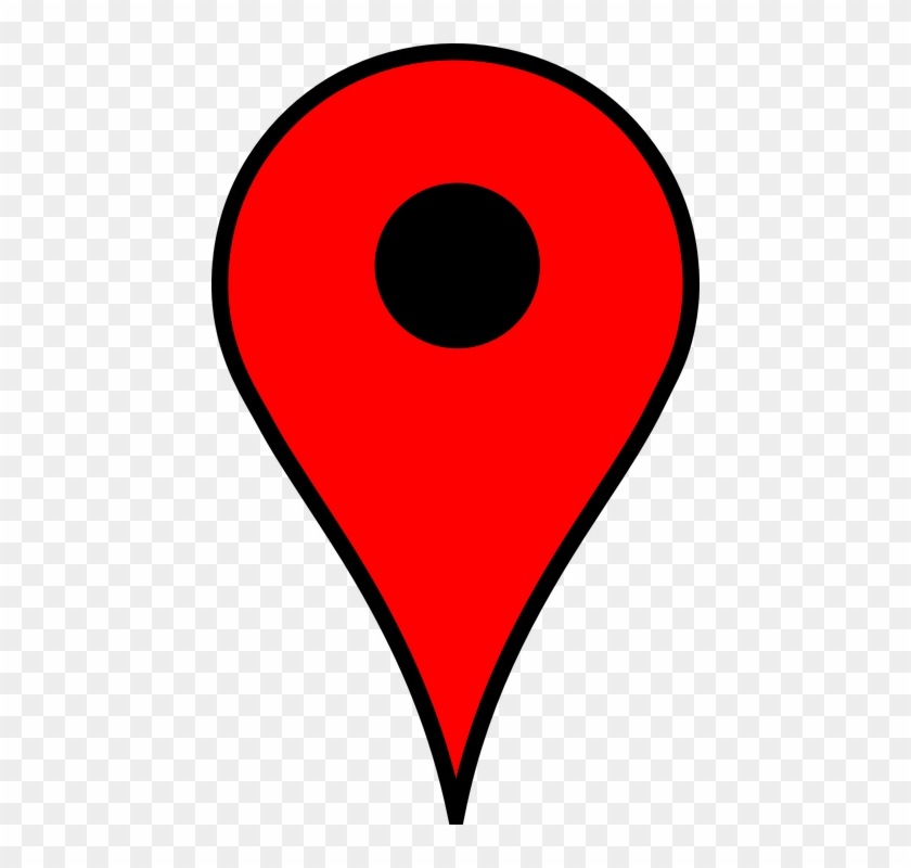 Map Pin Logo Png - Location Poi Pin Marker Position Red Map - Google Maps Marker, HD ...
