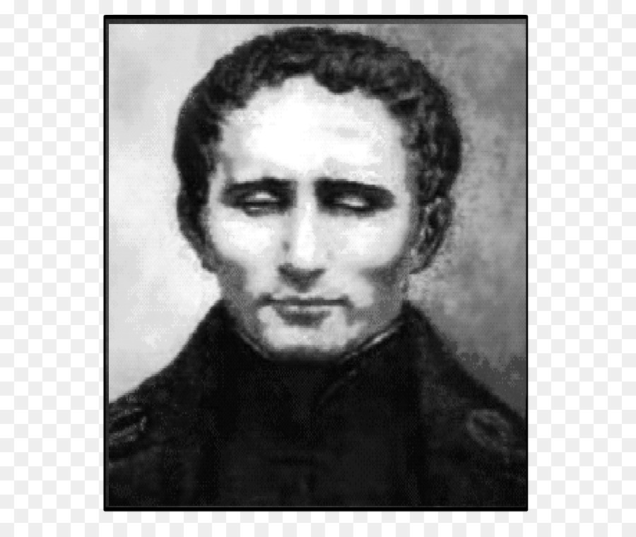 Louis Braille Png - Louis Braille Vision loss Inventor Disability - Louis Braille png ...