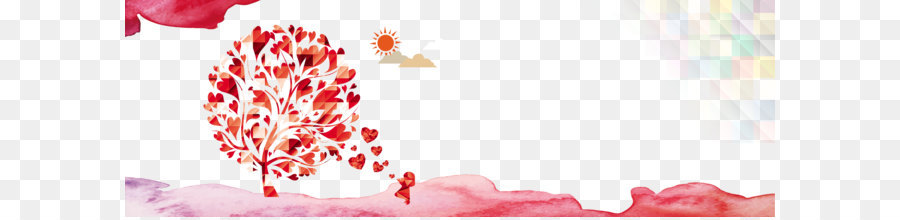 Romantic Backgrounds Png - Love Background Heart png download - 1920*640 - Free Transparent ...