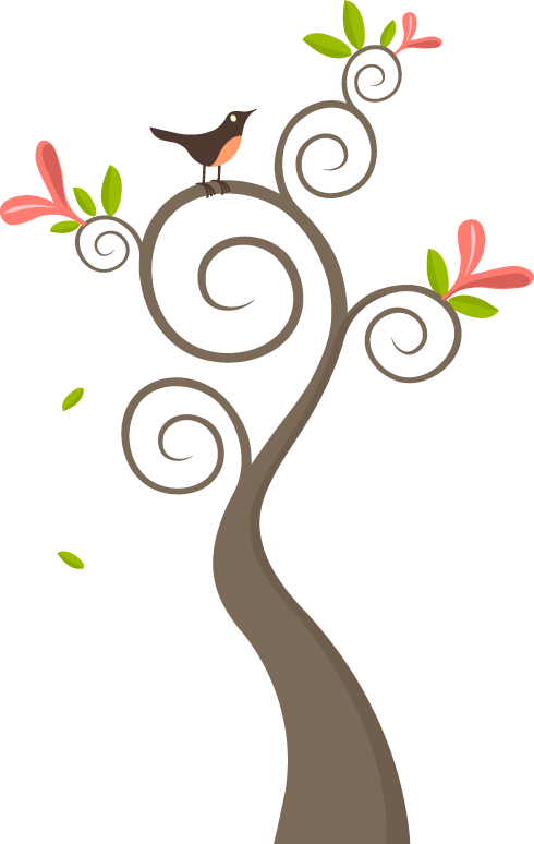 Love Birds In Tree Png - Love Birds In A Tree Clip Library Stock #195947 - PNG Images - PNGio