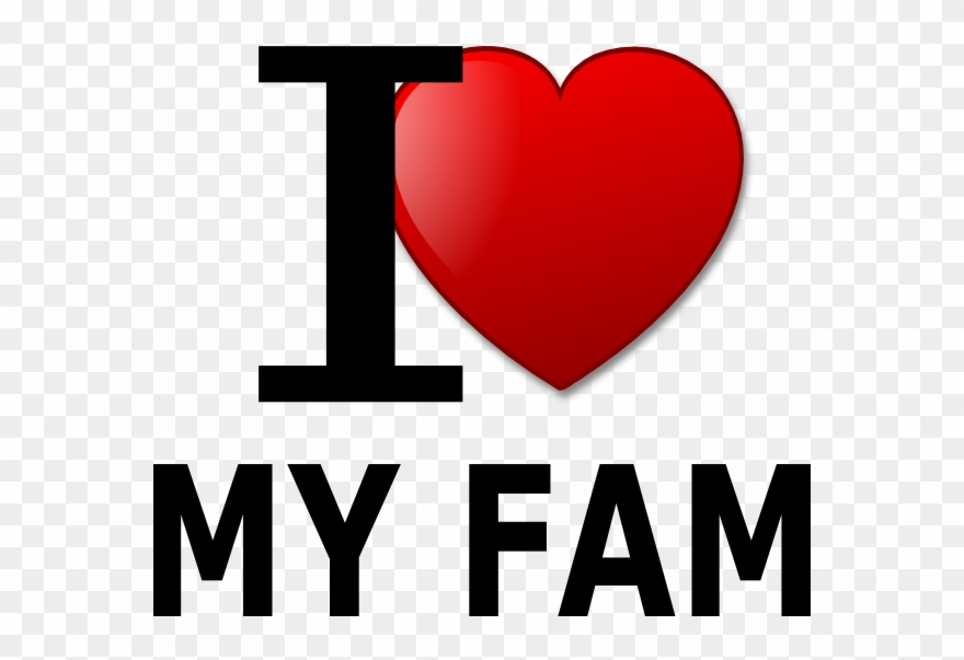 I Love Family Png - Love Clip Art At Clker - Family Love Clipart Transparent ...