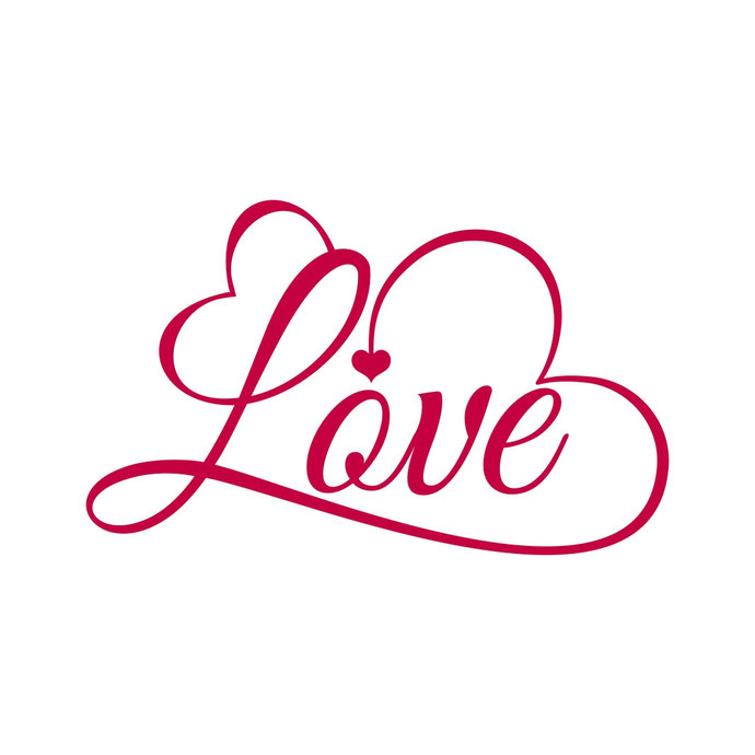 Love Quote Valentines Day Heart Graphics 627206 Png Images Pngio