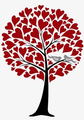 Love Birds In Tree Png - Love Tree, Love, Bird, Trees PNG And PSD #195953 - PNG Images - PNGio