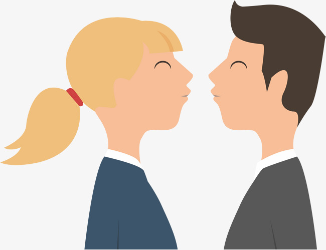 Kiss On The Cheek Png - lovely couple kissing, Couple Vector, Couple, Kiss PNG and Vector