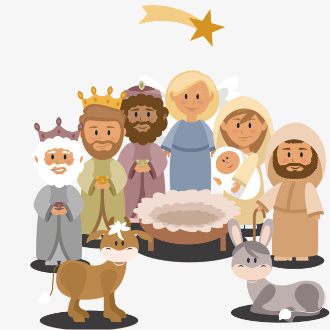Free Png Nativity Scene - Lovely Nativity Scene Character Background, Character, Scenes ...