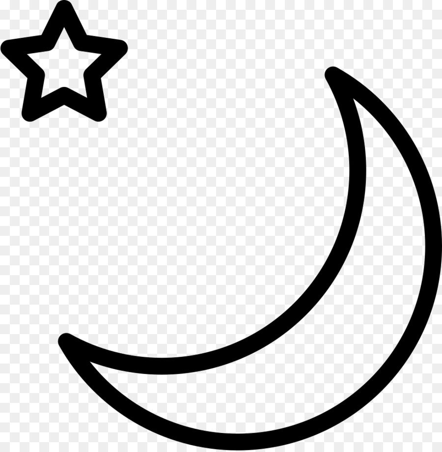 Moon Png Outline Free Moon Outline Png Transparent Images 4813