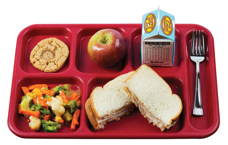 School Lunch Tray Png - Lunch is still in when school is out - The Sun-Gazette Newspaper