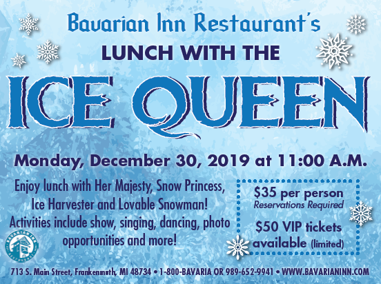 Snowman Scenes Dancing Png - Lunch With The Ice Queen! (11am seating) | Frankenmuth, MI 48734