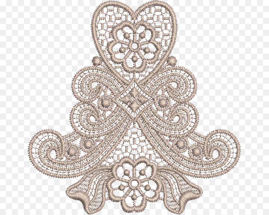 Embroidery Png - Machine embroidery Lace Pattern - embroidery