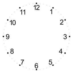 Make A Css Analog Clock Kequc Png Images Pngio