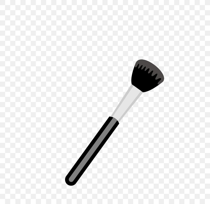 Makeup Brush Cartoon Png - Makeup Brush Make-up Cartoon, PNG, 800x800px, Brush, Black And ...