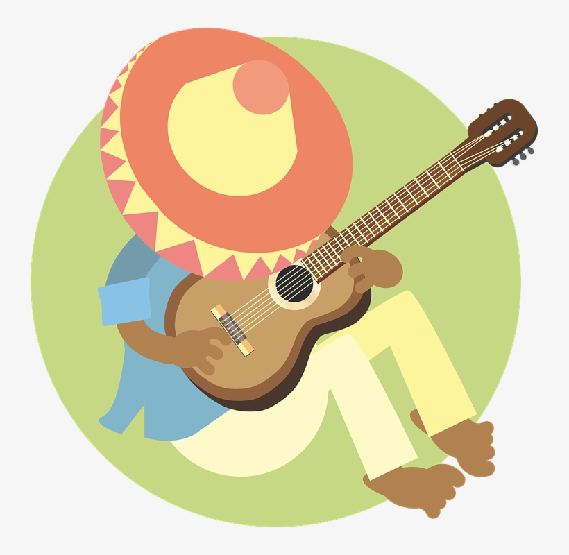 Mexican Man With Sombrero Png - Man, Sleeping, Mexican, Guitar, Music, Sombrero - Mexican Sleeping ...
