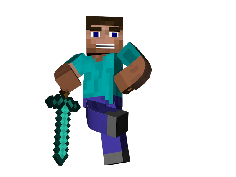 Minecraft Man Png Free Minecraft Man Png Transparent Images