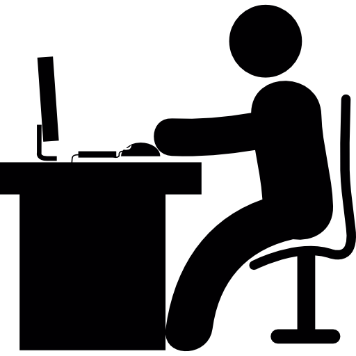 Multiple People Using Computer Png - Man Using Computer PNG Transparent Man Using Computer.PNG Images ...