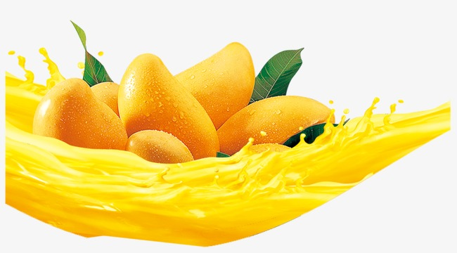Png Of Mango - Mango, Yellow, Fruit Juice PNG and PSD File for Free Download