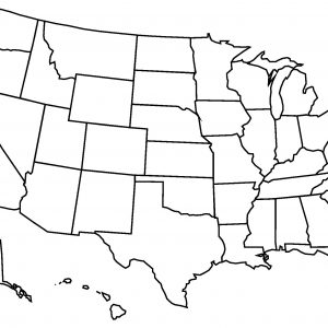 Map Of The Us Outline.Maps Of Us Outline Blu 83482 Png Images Pngio