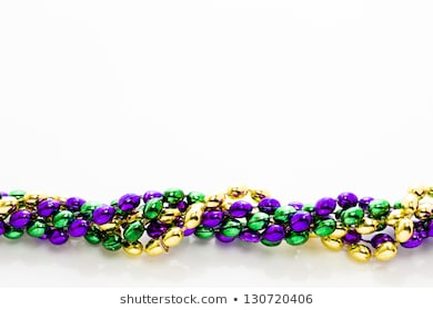 Mardi Gras Beads Images Stock Photos 815419 Png Images Pngio