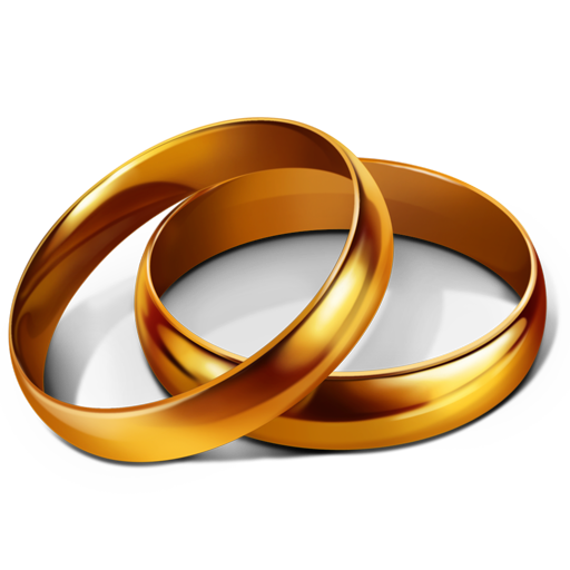 Weddings Png - Marriage, party, rings, wedding icon