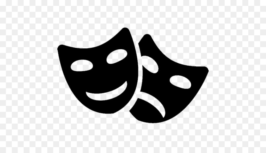 Drama Mask Png - Mask Theatre Comedy Drama - mask png download - 512*512 - Free ...