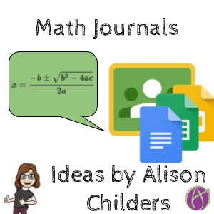 Math Journal Png - Math journal ideas by Alison Childers