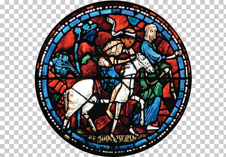 Cathedral Window Png - Medieval stained glass Chartres Cathedral Window, window PNG ...