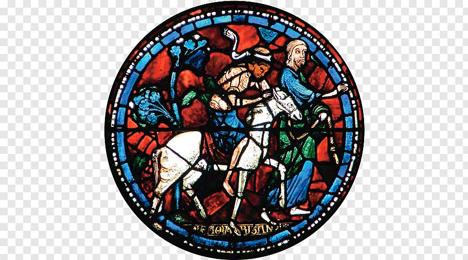 Cathedral Window Png - Medieval stained glass Chartres Cathedral Window, window PNG | PNGWave
