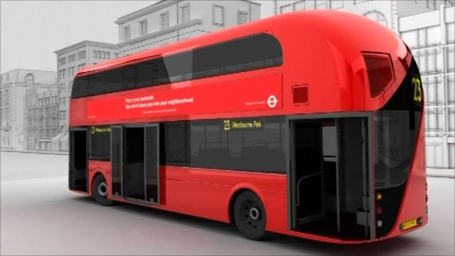 New Routemaster Png - Meet the new London routemaster - BBC News