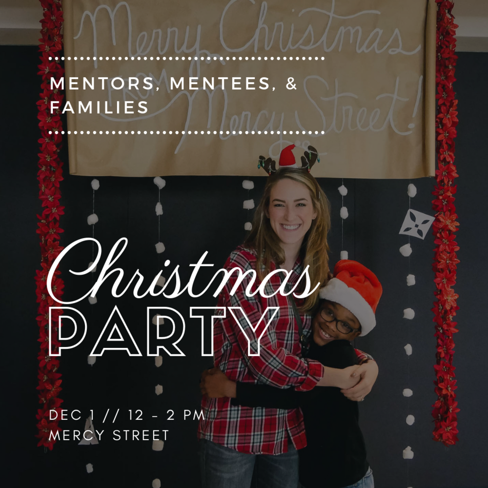Family Christmas Party Png - Mentor/Mentee Family Christmas Party — Mercy Street Dallas