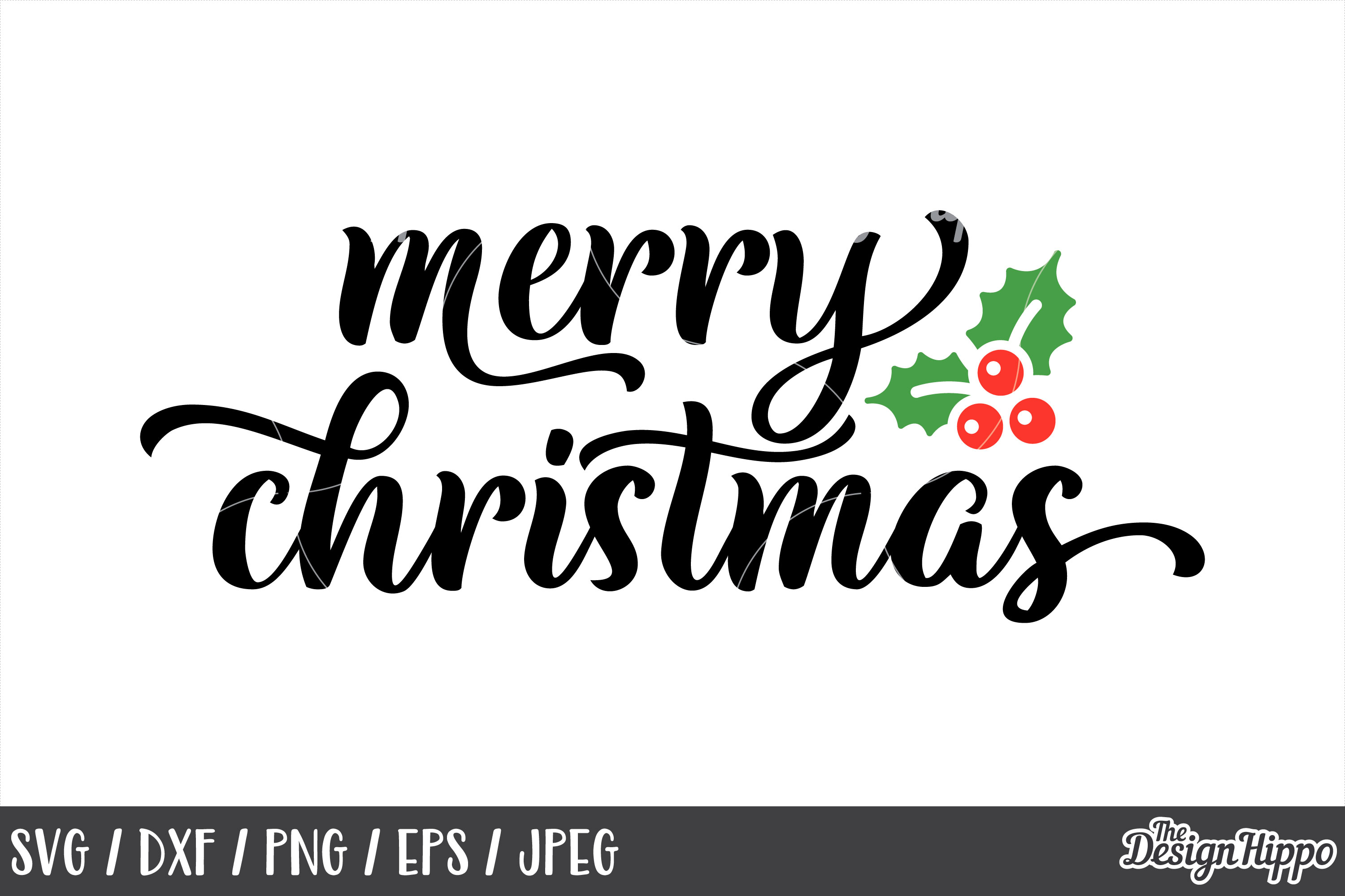 Merry Christmas Svg Mistletoe Dxf Png 1172251 Png Images Pngio