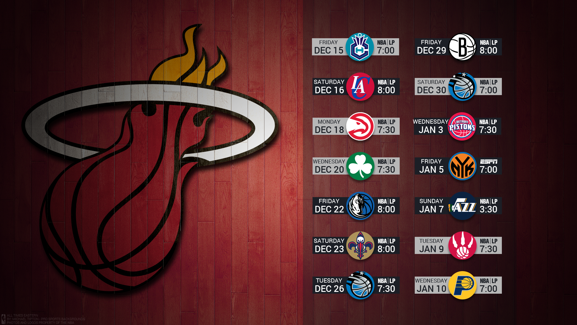 Miami Heat Wallpapers And Background Ima 1023724 Png Images Pngio